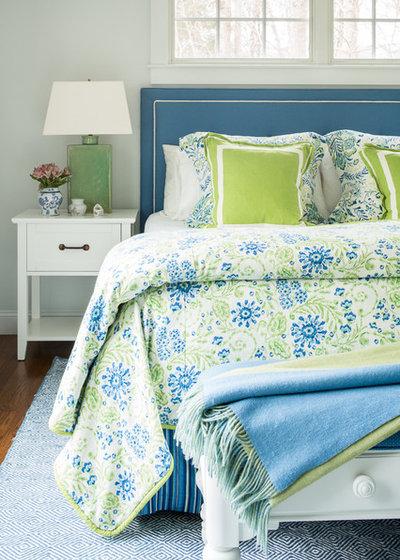 Coastal Bedroom by Hurlbutt Designs