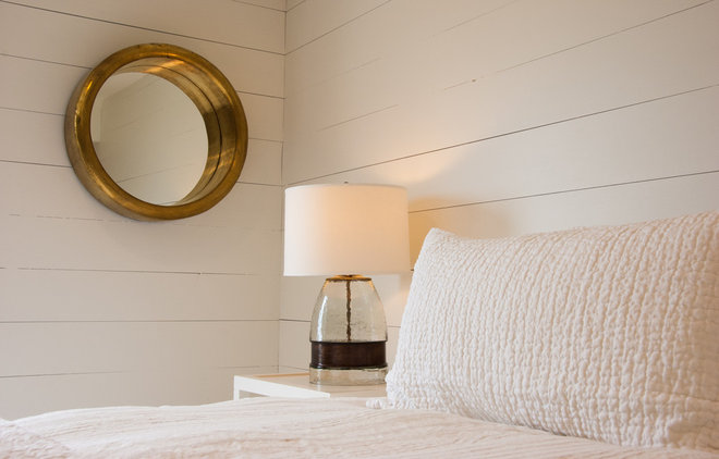Beach Style Bedroom by e4 Interior Design, LLC