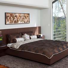 Contemporary Bedroom by Ruth Livingston Studio
