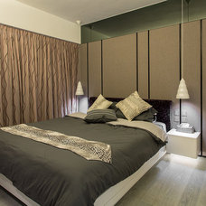 Contemporary Bedroom by S.I.D.Ltd.
