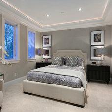 Contemporary Bedroom by Clay Construction Inc.