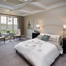 Transitional Bedroom by Perry Signature Homes Inc.