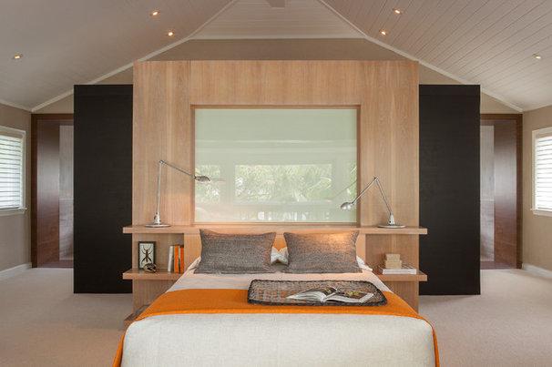 Contemporary Bedroom by Michael Wolk Design Associates