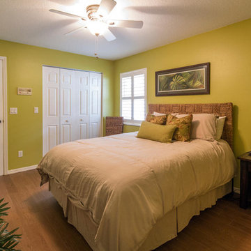 Key West style guest bedroom