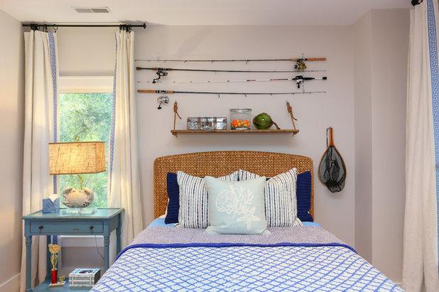 Coastal Bedroom by Matthew Bolt Graphic Design
