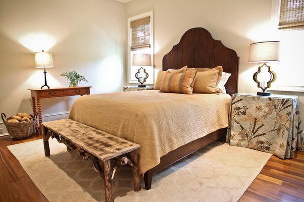 Beach Style Bedroom by Margaret Donaldson Interiors