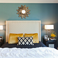 Transitional Bedroom by Abbe Fenimore Studio Ten 25
