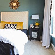 Transitional Bedroom by Abbe Fenimore Studio Ten 25