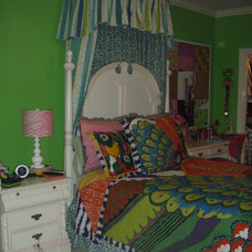 Eclectic Bedroom by Terry's Designing Windows