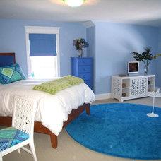 Eclectic Bedroom by Studio C Interiors