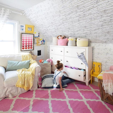 Kids Colorful Eclectic Playroom