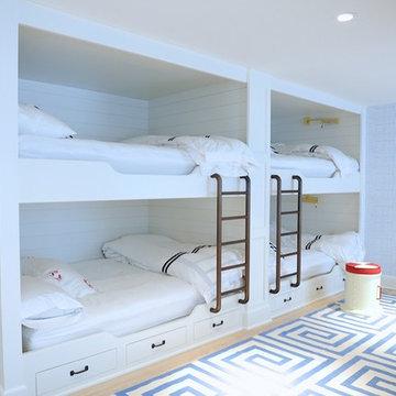 Kids guest room bunk beds