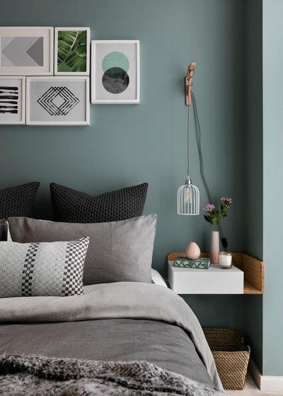 Scandinavian Bedroom by Shanade McAllister-Fisher Design