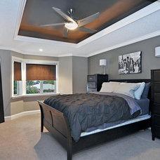 Contemporary Bedroom by Jordan Lotoski