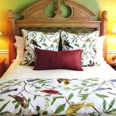 Eclectic Bedroom Kim Nichols