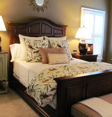 traditional bedroom Kim Nichols