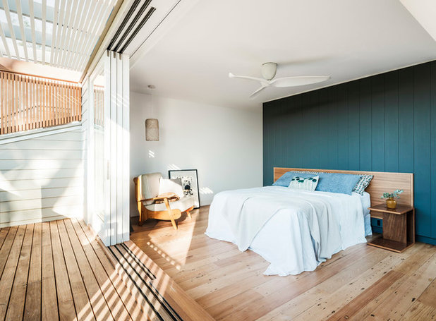 Contemporary Bedroom by Kate Mountstephens Architecture+Heritage