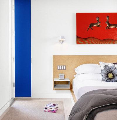 7 nachttisch-ideen für winzige schlafzimmer, Schlafzimmer design