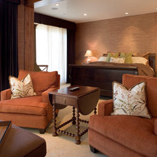 Transitional Bedroom by ZD Interiors