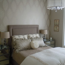 Contemporary Bedroom by Interiors By Catherine