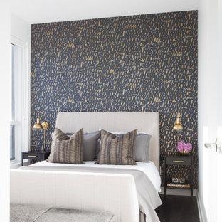 トロントのコンテンポラリースタイルのおしゃれな寝室のインテリア