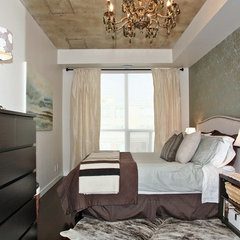 eclectic bedroom by High Street Design