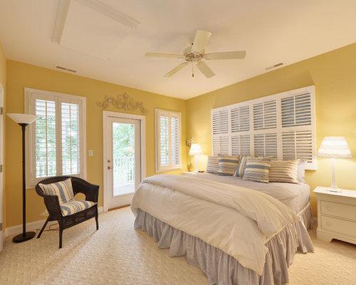 yellow walls bedroom houzz