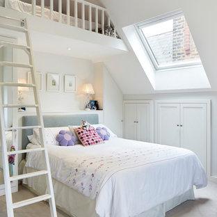 Ejemplo de dormitorio tipo loft tradicional