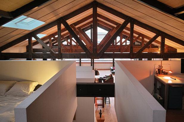 Traditional Bedroom by MCAS - Max Capocaccia Architecture Studio
