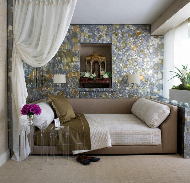 Transitional Bedroom by White Webb