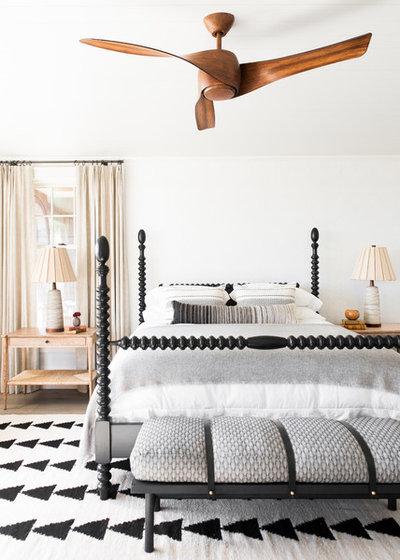 Beach Style Bedroom by Cortney Bishop Design