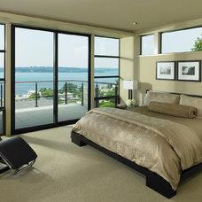Contemporary Bedroom by Luchsinger Interior Design