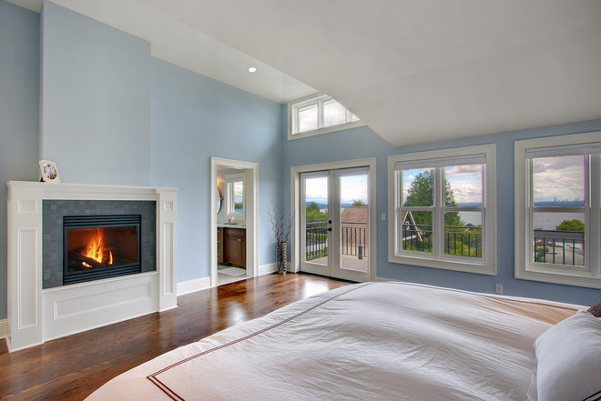 Traditional Bedroom by RW Anderson Homes