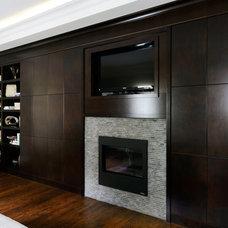 Contemporary Bedroom by Darren Walker - Kitchen Craft