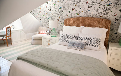 Room of the Day: Awkward Attic Becomes a Happy Nest
