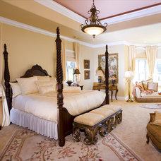 Mediterranean Bedroom by Kitt Haman Design