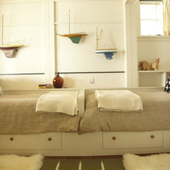 bedroom by Kate Maloney Interior Design