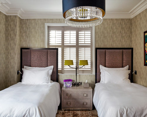 Design Ideas For A Clic Guest Bedroom In London
