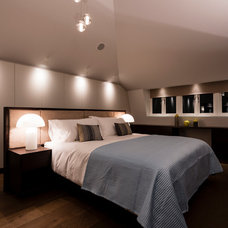 Contemporary Bedroom by Luke Cartledge Photography