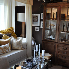 Eclectic Bedroom by bryant design group inc.