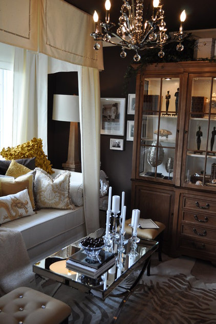 Eclectic Bedroom by T.Bryant Designs, Inc.