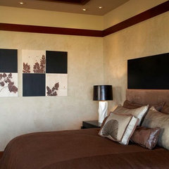 asian bedroom by Knudson Interiors