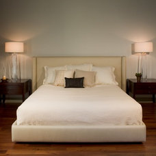 Contemporary Bedroom by Cravotta Interiors