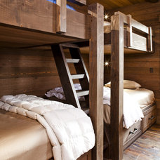 Rustic Bedroom by Kogan Builders