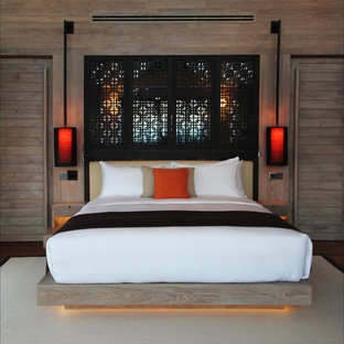 Inspiration for an asian bedroom in Other.