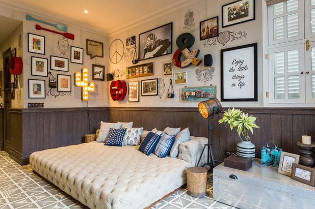 Eclectic Bedroom by Shabnam Gupta