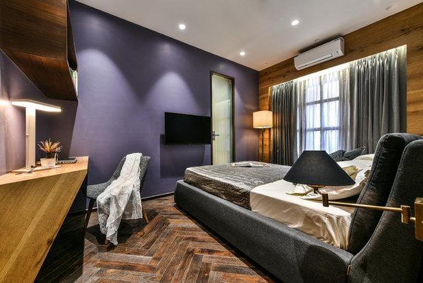 Contemporary Bedroom by Open Atelier Mumbai