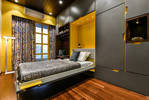 Contemporary Bedroom by Open Atelier Mumbai