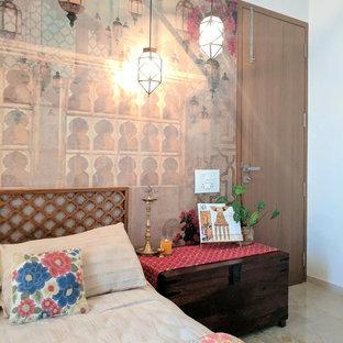 Inredning av ett asiatiskt sovrum