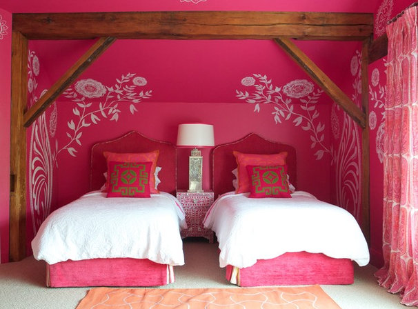 Contemporary Bedroom by Kate Thornley-Hall
